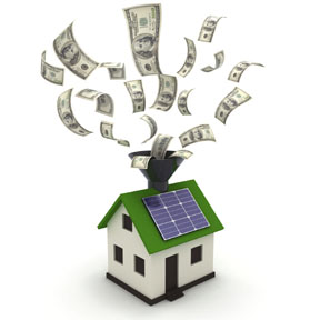 Solar Energy Cash Roof