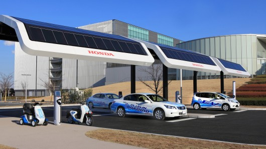 Honda Electric Car Charging Station