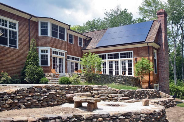 SunPower 225 watt Solar Panels on home