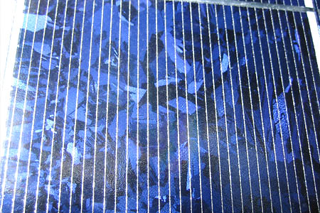 Polycrystalline silicon panels