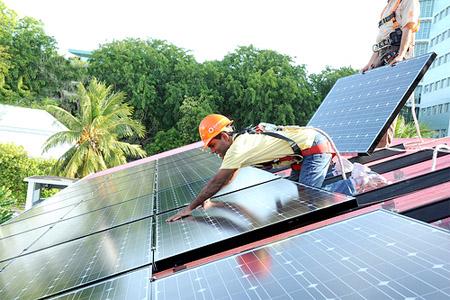 Solar Energy On House