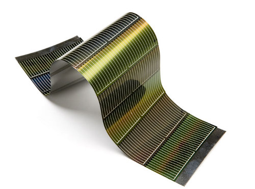 Image result for Flexible solar panel