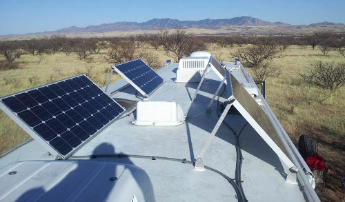 installing solar panels on rv
